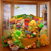 Sunshine Duck Easter Candy Kids Gift Pail