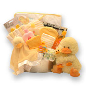 Duck Splash Baby Gift -  Yellow