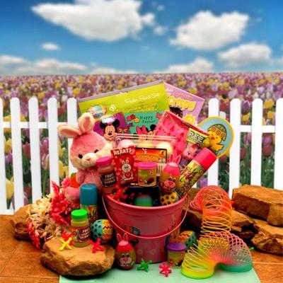 Bunny Pink Fun Easter Gift