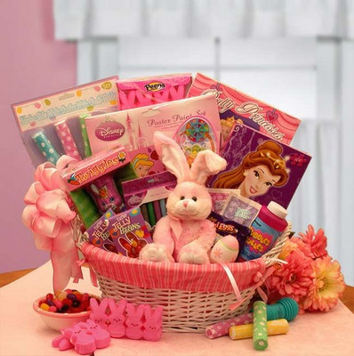 Princess Easter Gift Basket