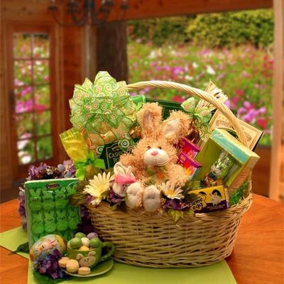 Festive Easter Gift Basket