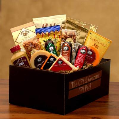 Gourmet Snack Gift Pack for Men
