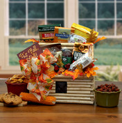 Log Cabin Fall Gift Basket