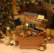 Golden Holiday Gourmet Basket