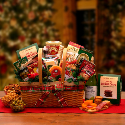 A Very Merry Christmas Gift Basket