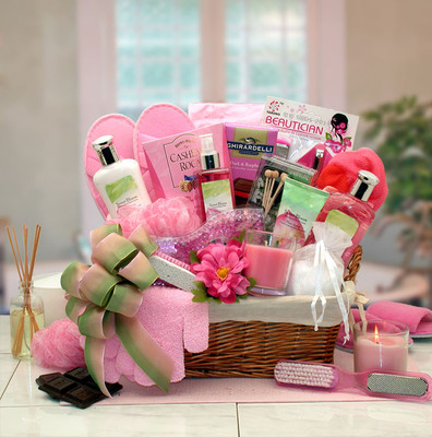 Womens Sweet Relaxation Spa Gift Basket