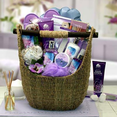Exquisite Lavender Spa Tote for Women