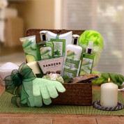 Womens Botanical Refresh Spa Gift Basket