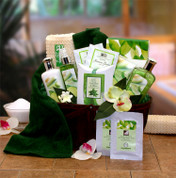 Natural Spa Gift Basket For Women