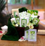 Natural Spa Gift Basket For Women