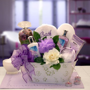 Pretty Lavender Spa Set For Women
