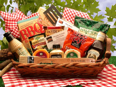 Grilling Gift Basket for Men