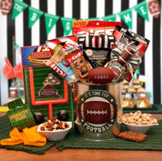 Football Snacks Gift Pail for Men