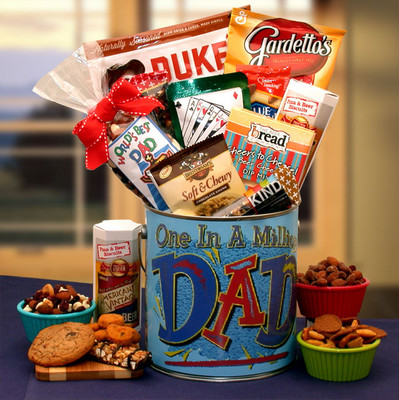 Best Dad Snack Pail Gift