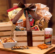 Snacks For Father Gift Crate