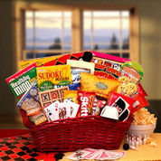 Activities and Treats Gift Basket For Kids
