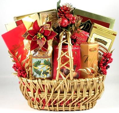 Christmas Memories Gift Basket