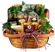 Meat And Cheese Holiday Gift Basket