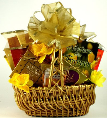 precious mothers heart gift basket