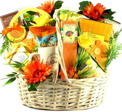 Sunshine mom gift basket