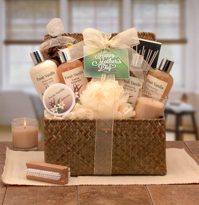 Fresh Vanilla Bliss Gift Chest For Mom