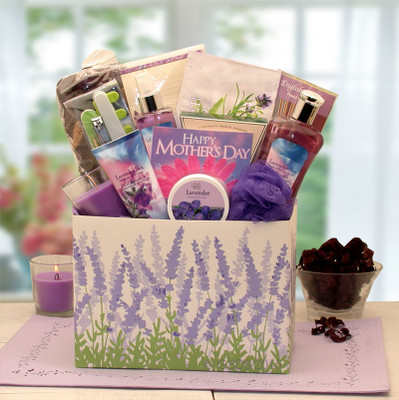 Lavender Relaxation Gift Box for Mother
