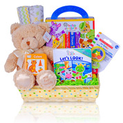 Gift Basket for Baby with books
