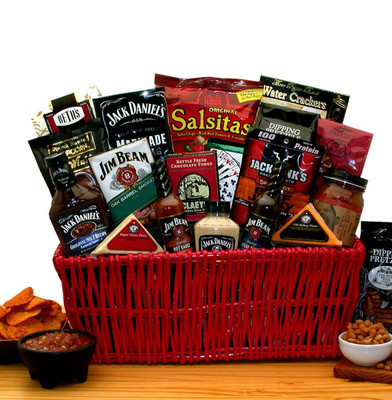 Snack Time Gift Basket