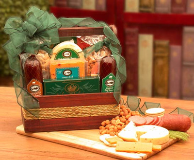 Hearty Meat and Nut Gift for Men