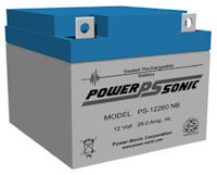 12 Volt 26.0AH SLA Battery