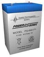 6 Volt 4.0AH SLA Battery