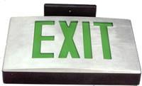 Diecast LED exit