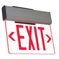 LED Edge Lit Exit Sign