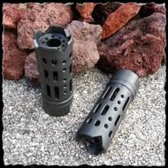 Steel Muzzle Brake Compensator Multi Ported