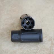 Steel Muzzle Brake Compensator .233 .556 Front Concave ports