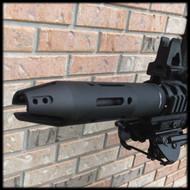 Angled Ported Slotted Muzzle Brake Style Barrel Shroud S&W AR 15 / 22