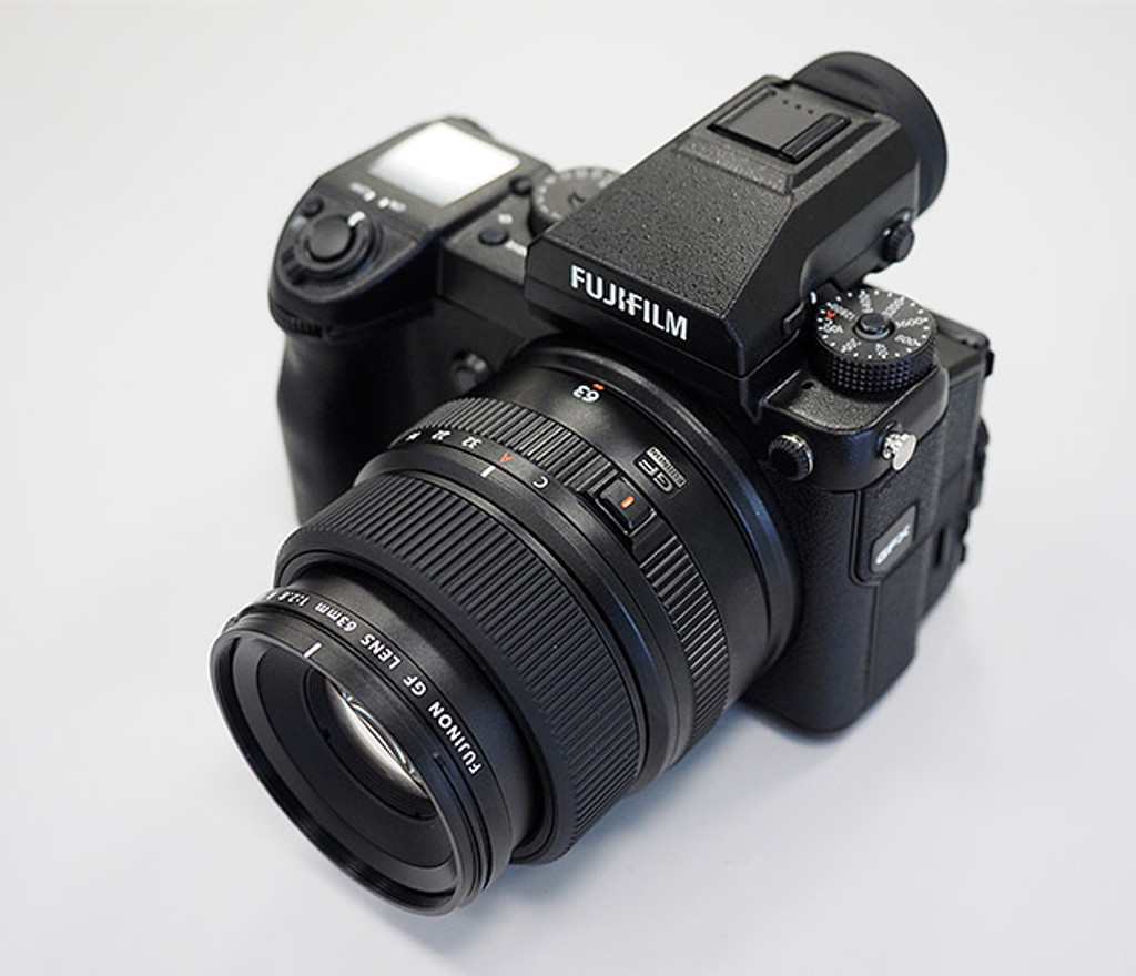 Fujifilm announces GFX medium format camera