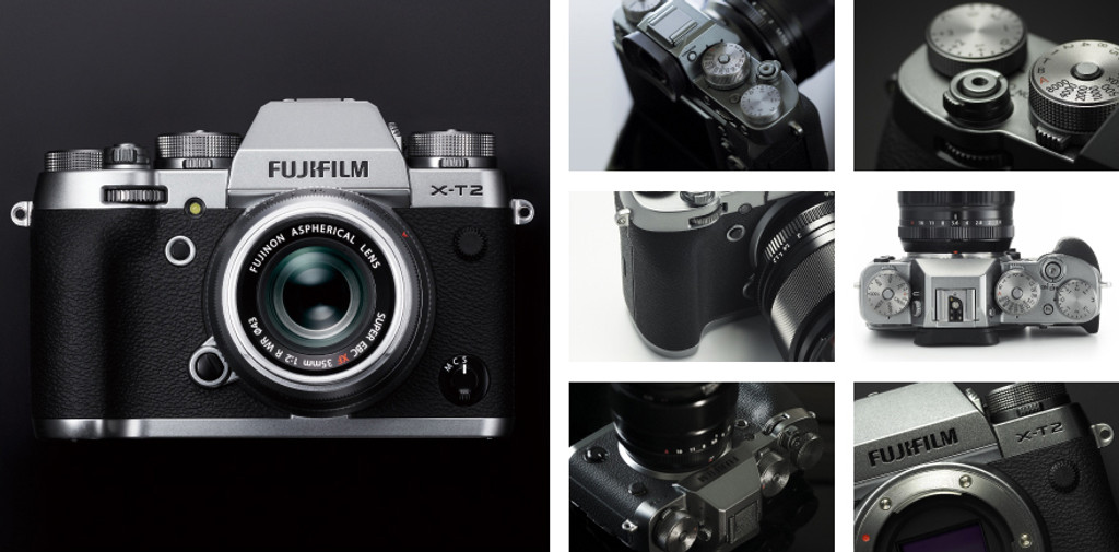 Fuji X-T2 Graphite Silver Edition