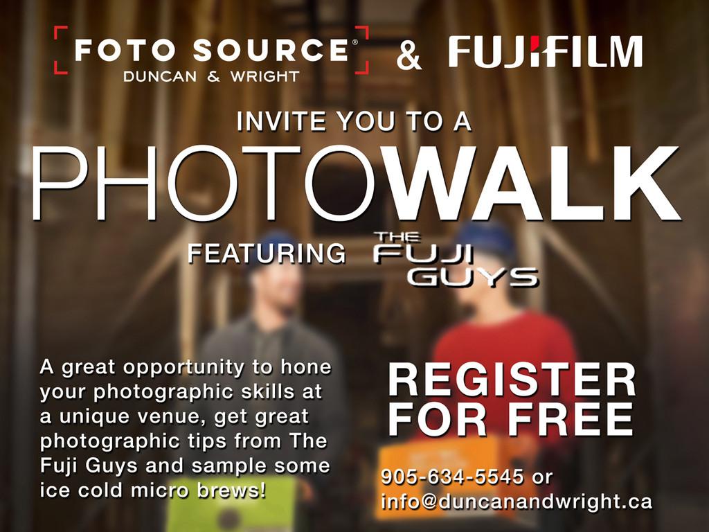 Fuji Photo Walk
