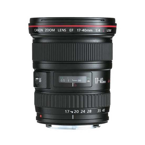 Canon EF 17-40mm f/4 USM L Series