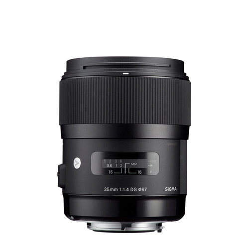 Sigma ART 35mm f/1.4 DG HSM - Save $50.00