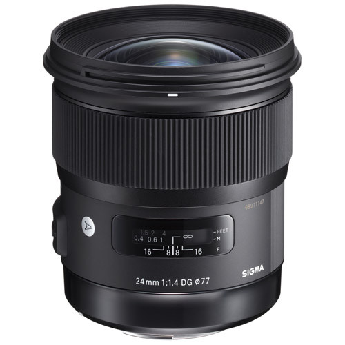Sigma ART 24mm f/1.4 DG HSM - Save $50.00