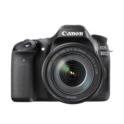 EOS 80D w/18-135 IS STM - Save $700