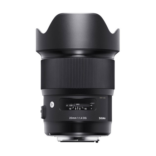 Sigma ART 20mm f/1.4 DG HSM - Save $50.00