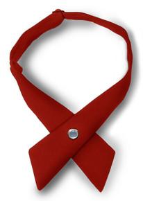 Red Criss Cross Tie