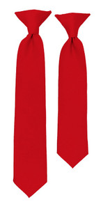 Red Clip Ties