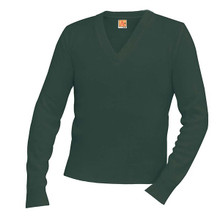 SSM Hunter Green Pullover w/ School Logo