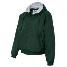 SSM Hunter Green Rain Jacket w/ School Logo