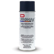 Promax is a multi-purpose aerosol enamel for exterior or interior use on metal, wood, and fiberglass.    Outstanding coverage Excellent filling properties Durable, fast drying finish Great adhesion Professional finish