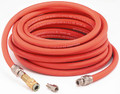 "DEV HA5867 3/8"" HVLP Air Hose 3 pc. Reusable Assembly - 35 ft."